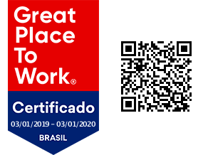 Selo de certificação Great Place to Work